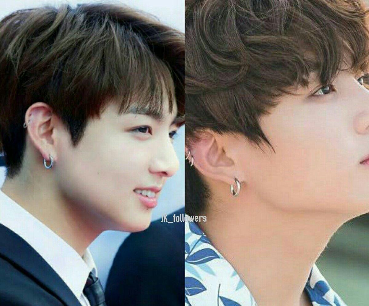 Hầu như các thành viên của nhóm nhạc BTS đều có lỗ tai