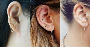 Bấm lỗ tai là xu hướng làm đẹp được yêu thích nhất mọi thời đại